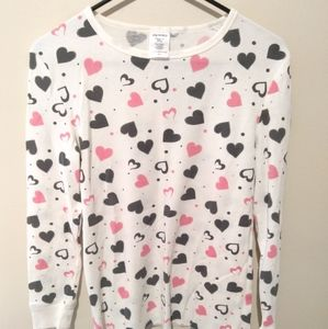 Hearts Thermal Top